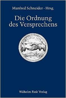 Book Die Ordnung des Versprechens.
