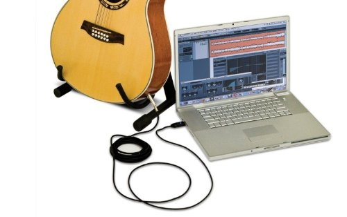 Alesis GuitarLink | AudioLink Series 1/4-inch-to-USB Cable (16-bit / 44.1 kHz) Accessory Consumer Accessories
