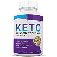 Ketogenic Keto BHB Supplement - Appetite Suppressant Weight Loss Pills for Women and Men - Ketosis Diet Pill Weightloss Supplements - Exogenous Ketones- 60 Capsules