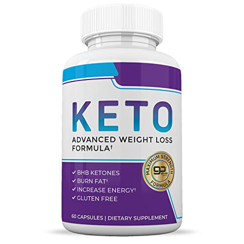 Great Keto Diet Pills - Ketogenic Keto BHB Supplement - Appetite Suppressant Weight Loss Pills for Women and Men - Ketosis Diet Pill Weightloss Supplements - 60 Capsules