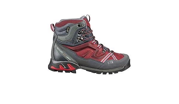 Outdoor Gear Official Brand Millet High Route GTX Walking Boots Womens Burgundy Hiking Trekking Shoes Footwear