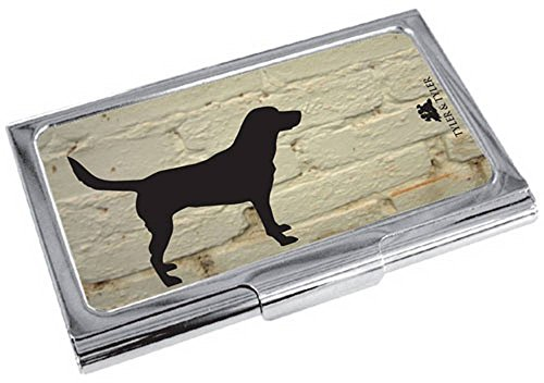 Labrador Silver Cream Tyler Business Case White Black Brick and Card Mens Tyler qwxXqC