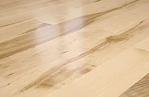 AMERIQUE GLEMNT12 37Sqft Prefinished Engineered Canadian Maple Floor Single Plank Color, Builder Grade, 5