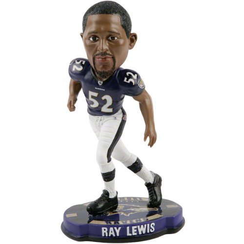 (Ray Lewis Baltimore Ravens 2012 NFL Forever Collectibles Bobble Head )