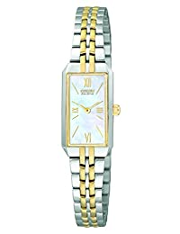 Citizen Women's EG2694-59D Silhouette Eco-Drive Two-Tone Mother-Of-Pearl Watch