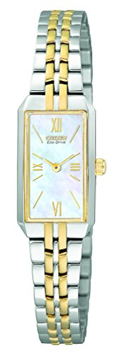 Eco Drive Two Tone Bracelet (Citizen Women's EG2694-59D Eco-Drive Two-Tone Dress Watch)