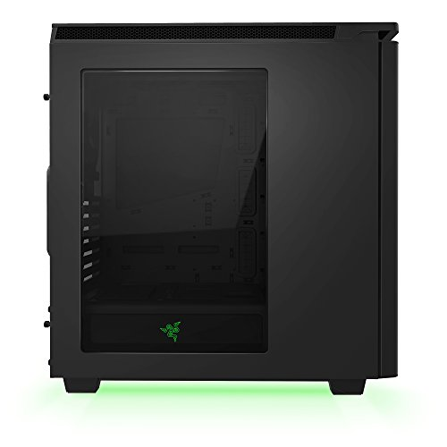 NZXT H440 Razer Edition Mid Tower ComputerCase, Matte Black (CA-H442W-RA) by Nzxt (Image #2)