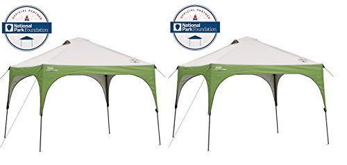 Coleman 10 x 10 Instant Sun Shelter (Pack of 2)
