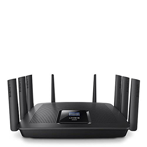 Linksys Tri-Band Wifi Router for Home (Max-Stream AC5400 MU-Mimo Fast Wireless Router) (Best Wireless Router For Office Network)