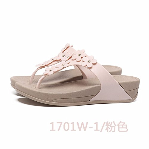 shoes summer slippers beach shoes fashion slippers flops flower Pink Flip pSqFw