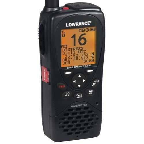 NAVICO Lowrance Link-2 VHF/GPS Handheld Radio / 000-10782-001 /