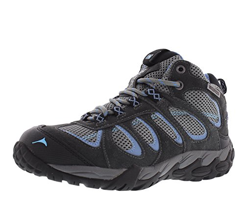 Hiking Pacific Cut Black Grey Moraine Waterproof Size Mid Backpacking 10 Boots Blue Women's Mountain TxzTq0Sn