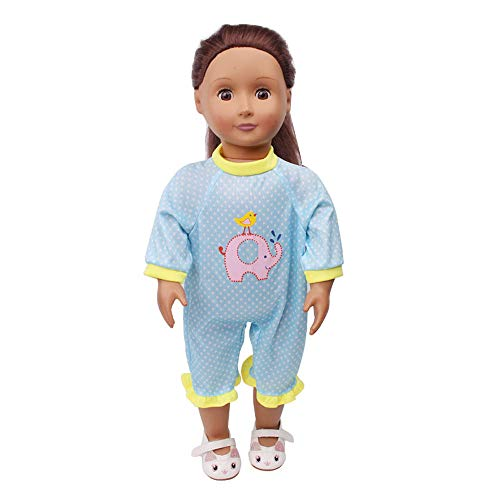 Denzar Baby Doll Clothes,Doll Clothes Outfits for 18 Inch America Girl, Alive Baby Doll Handmade Lovely Dress Clothes Outfits Costumes Dolly Pretty Doll Clothes,Prefect for Taking Photo and Daily Wear ()