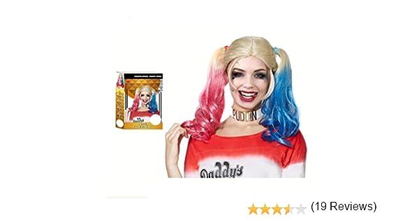 PARTILANDIA - Peluca JokerS Baby: Amazon.es: Juguetes y juegos