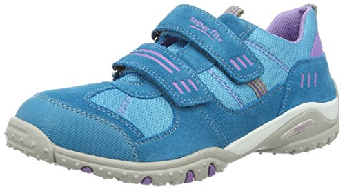 Superfit  Sport4, Sneakers Basses fille -Turquoise (Turquoise)-40