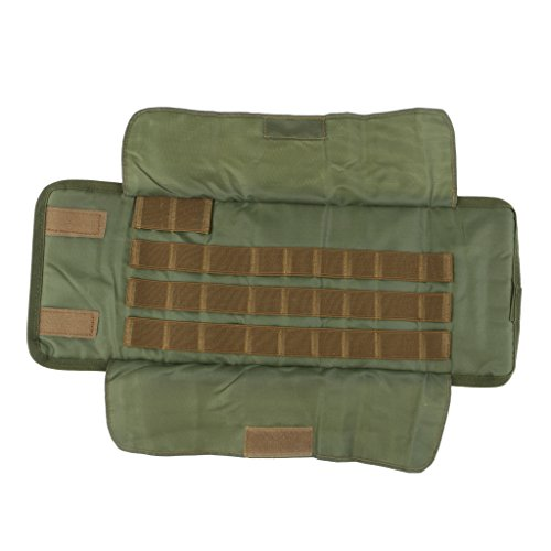 DYNWAVE Roll Up Fly Tying Tool Pouch Bag for Fly Tying Or Tying Flies