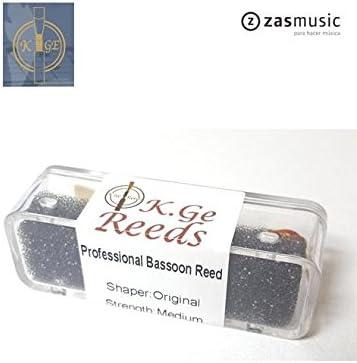 Caña PROFESIONAL Fagot K. GE REEDS Original (forma hecha en seco) Media: Amazon.es: Instrumentos musicales