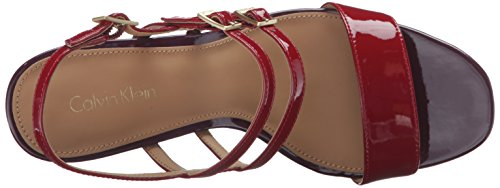 Klein Noi Calvin Rosso 5 8 Donne Sandalo Slingback Caisiey dwHHzq1