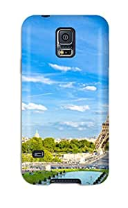 Fashion Protective Amazing Eiffel Tower Paris Case Cover For Galaxy S5