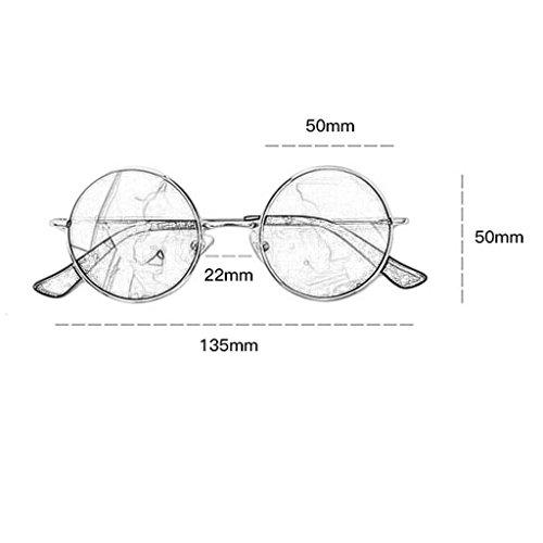 Marea Prince Espejo Harajuku De Sol D GAOYANG Polarizadas Gafas Gafas Myopia Color Vendimia Gafas Masculina Redondas De Rostro A Femenino Estilo nfP7I