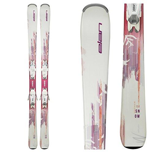 Elan Women's Snow LS Ski w/EL 7.5 AC Shift B78 White Bindings 2019 - Womens Skis Beginner