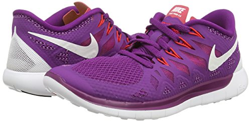 0 Nike red Da Bright 5 white Purple Donna Corsa Wmns Free Scarpe rqxfPrn4t