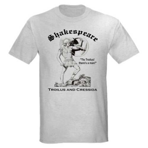 TROILUS AND CRESSIDA T-Shirt (large, Ash Grey)