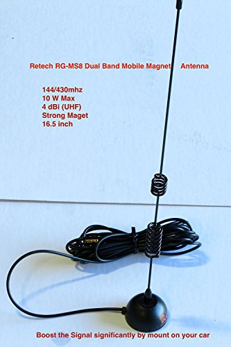 Retech RG MS8 430Mhz Antenna SMA Female product image