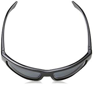 Arnette Men's Grifter Polarized Rectangular Sunglasses, Black, 62 mm