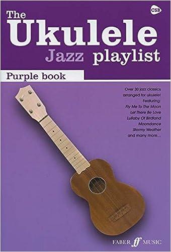 Amazon The Ukulele Jazz Playlist Purple Book Ukulele Chord