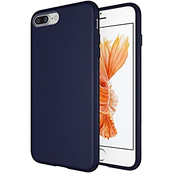Amazon.com  Diztronic Matte Blue iPhone 7 Plus Case iPhone 8 Plus ... b81c7544f54a