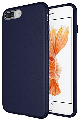 (Diztronic Case for iPhone 7 Plus, Matte Navy Blue)