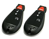 Pair of OEM Electronic Dodge Keyless Entry Remote Fobs FOBIK (FCC ID: IYZ-C01C)
