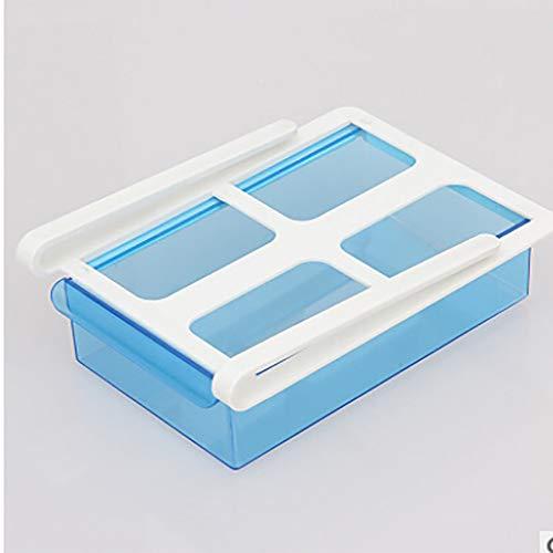 Storage Slots, Antehome Slide Fridge Freezer Organizer Refrigerator Storage Rack Shelf Drawer