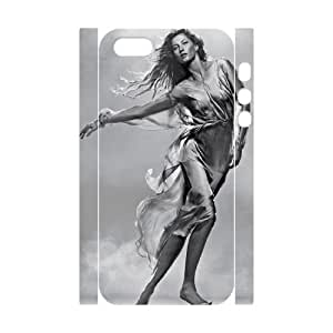 LSQDIY(R) Gisele Bundchen iPhone 5,5G,5S Customized 3D Case, Unique iPhone 5,5G,5S Durable 3D Case Gisele Bundchen
