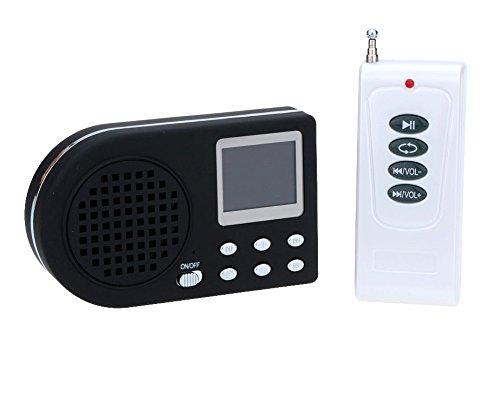 Llamador de aves digital, con reproductor de mp3, mando a distancia inalámbrico Hunting Caller