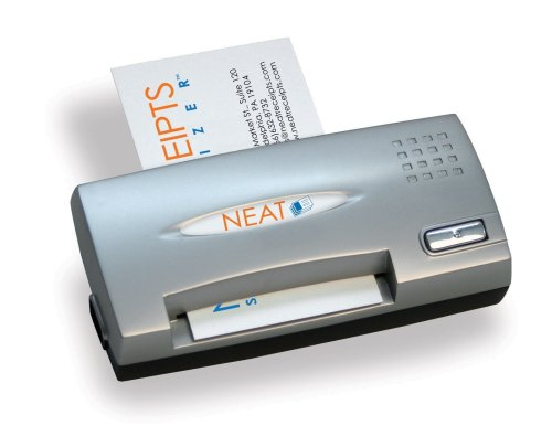 NeatReceipts Neat Business Cards Mobile Full Color Card Reader/Scanner by The Neat Company