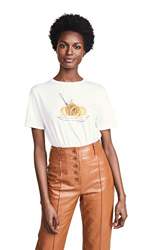 (Paul Smith Women's Spaghetti T-Shirt, White,)