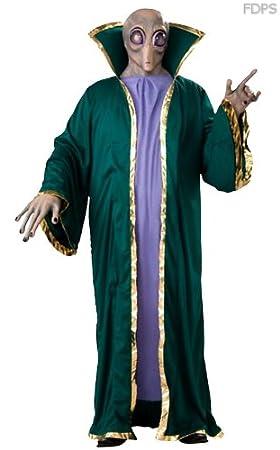 Desconocido Disfraz Capa y Máscara de Extraterrestre 111cm Pecho ...