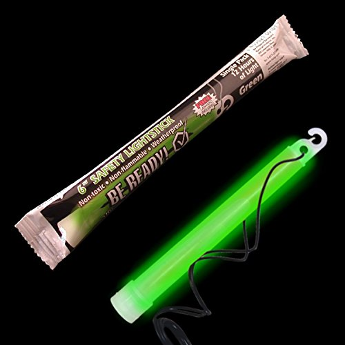 "6"" Safety Chemical Light Stick 8 Hour (Green)"