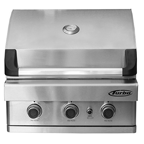 Turbo 3-Burner Built-In Gas Grill - Propane