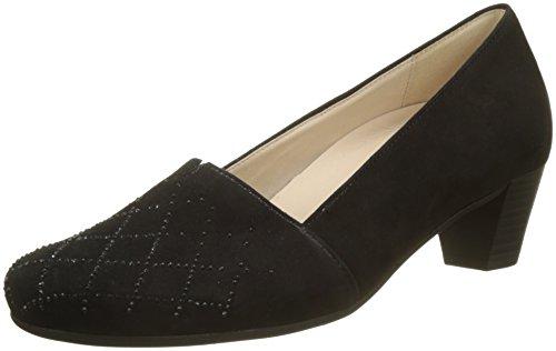 Schwarz Shoes Gabor Escarpins Basic Motiv Noir Comfort Femme wfxYqFxaU