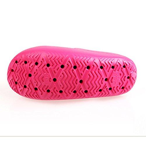 SHANGXIAN Stovepipe adelgazar pierna belleza pie EVA Body Shaper zapatillas sandalia Fitness de las mujeres post-parto tonificación zapatos Pink