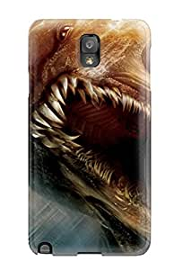 Galaxy Note 3 WVP-5882rfZqhWns Clash Of The Titans Monsters Sky Dark Scary People Movie Tpu Silicone Gel Case Cover. Fits Galaxy Note 3