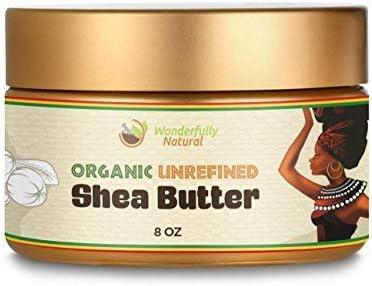Amazon Com Unrefined Shea Butter African Organic Ivory Raw