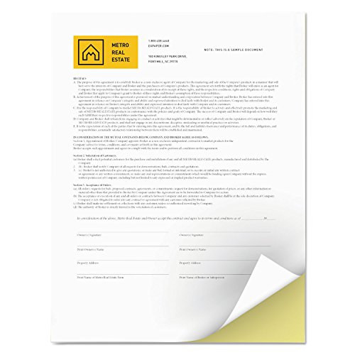 Xerox 3R12420 Revolution Digital Carbonless Paper, 8 1/2 x 11, White/Canary, 5,000 Sheets/CT by Xerox (Image #1)