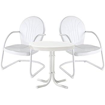 Amazon.com: Crosley Furniture Griffith 3-Piece Metal