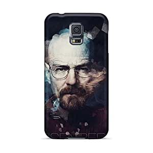 Shockproof Cell-phone Hard Cover For Samsung Galaxy S5 (HnD20118uEkt) Unique Design Trendy Breaking Bad Movie Series