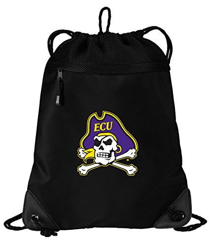 Broad Bay ECU Drawstring Bag East Carolina University Cinch Pack Backpack Unique MESH & Microfiber