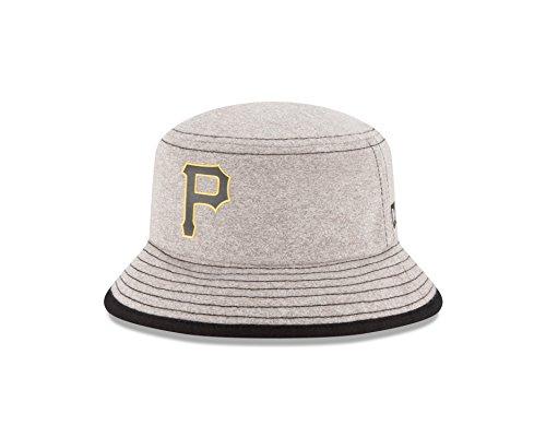 MLB Pittsburgh Pirates Kids Heather Tot Bucket Hat, Infant, Gray (Tote Pirate Kid)